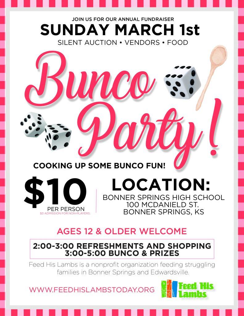 Bunco Party March 1